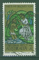 Timbre: Noël, le baptême du Christ