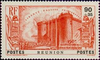 Timbre: 150 ans de la Révolution Française