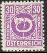 Timbre: 2ème république cor postal