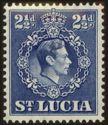 Timbre: Roi George VI