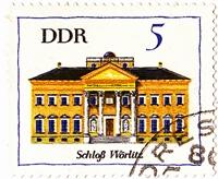 Timbre: Château de Wörlitz