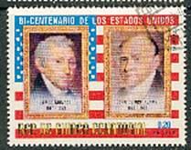 Timbre: James Monroe et John Quincy Adams**