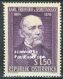 timbre: Baron Karl von Rokitanski