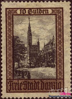 timbre: Marché de Langer et Hôtel de ville