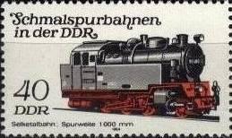 timbre: Locomotive de la ligne Gernrode-Strasberg-Harzgerode