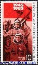 timbre: 40e anniversaire de la libération du fascisme