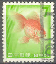 Timbre: Poisson rouge