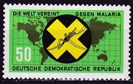 Timbre: Eradication du paludisme