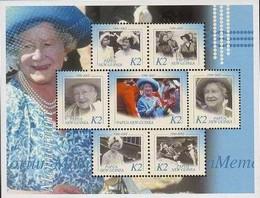 Timbre: Queen Elizabeth the Queen Mother (1900-2002)   Le Bloc