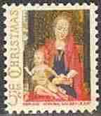 Timbre: Noël - la Vierge et l'Enfant de Memling  *3*