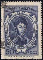 Timbre: Général José de San Martin (2ex)