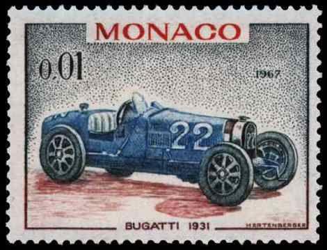 Timbre: Bugatti