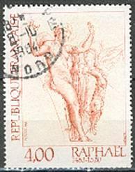 Timbre: Vénus et Psyché - Raphaël