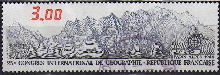 Timbre: Congres international de geographie