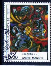 Timbre: La Pythie - André Masson