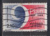 Timbre: 9ème plan 1984-1988, moderniser la France