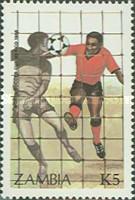 Timbre: Coupe du monde de football  México 86