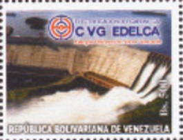 Timbre: Centrale hydroélectrique