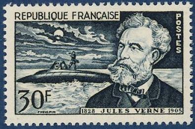 Timbre: Jules Verne