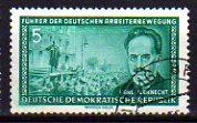 Timbre: Karl Liebknecht