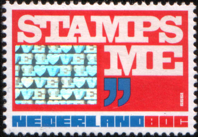 Timbre: Stamps love me, c
