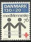 timbre: Centenaire de la Croix Rouge danoise