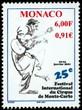 timbre: 25° festival international du cirque de Monte-Carlo.