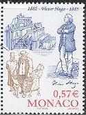timbre: Bicentenaire de la naissance de Victor Hugo