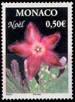 timbre: Noël - Fleur