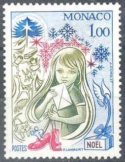timbre: L'Enfant à la Lettre de J. Combet