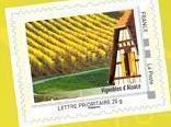 timbre: Alsace - Les vignobles