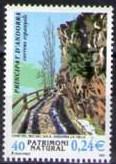 Timbre: Andorre Espagnol : Chemin du Rec del Sola