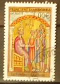 Timbre: Andorre Français : Miniature