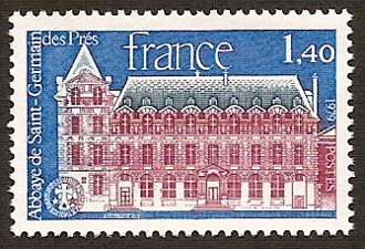 Timbre: Abbaye de Saint-Germain-des-Prés