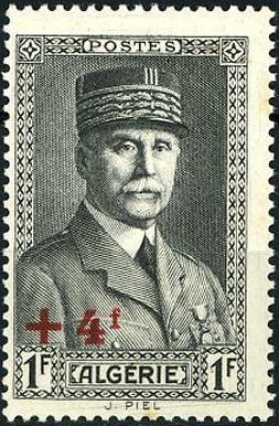 Timbre: Pétain