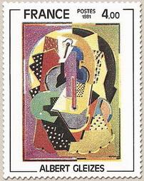 Timbre: Oeuvre d'Albert Gleizes