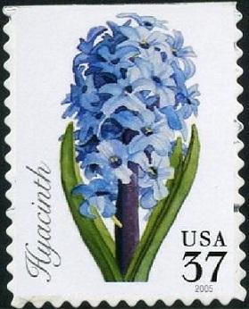 Timbre:  Fleurs de printemps: Jacinthe