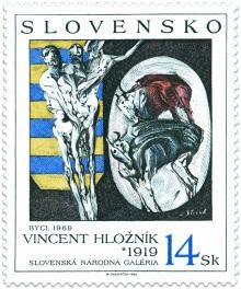 Timbre: Les taureaux, de Vincent Hloznik