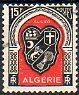 Timbre: Armoiries d'Alger