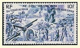 timbre: Du Tchad au Rhin