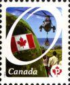 timbre: La fierté canadienne - adh
