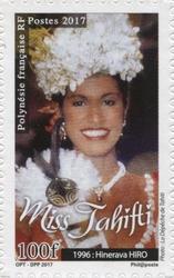 Timbre: Miss Tahiti - Hinerava Hiro
