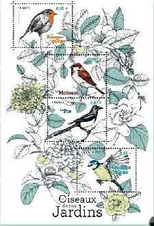 Timbre: Oiseaux de nos jardins
