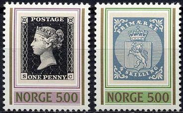 Timbre: Ann. du premier timbre-poste