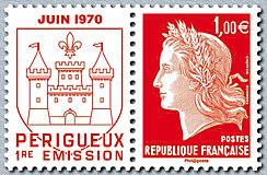 Timbre: Marianne de Cheffer - Rouge