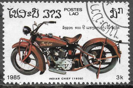 Timbre: Moto Indian Chief