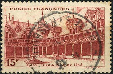 Timbre: Hôtel-Dieu de Beaune