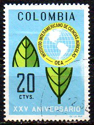 Timbre: Enblème de l'OEA