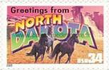 Timbre: Dakota du Nord