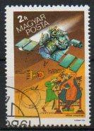 Timbre: Satellite Vega, passage comète Halley**